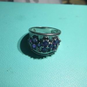 Jewelry - Ring. Ametist.Silver.925.